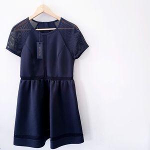 RACHEL ZOE | Baxter raglan dress - black, …